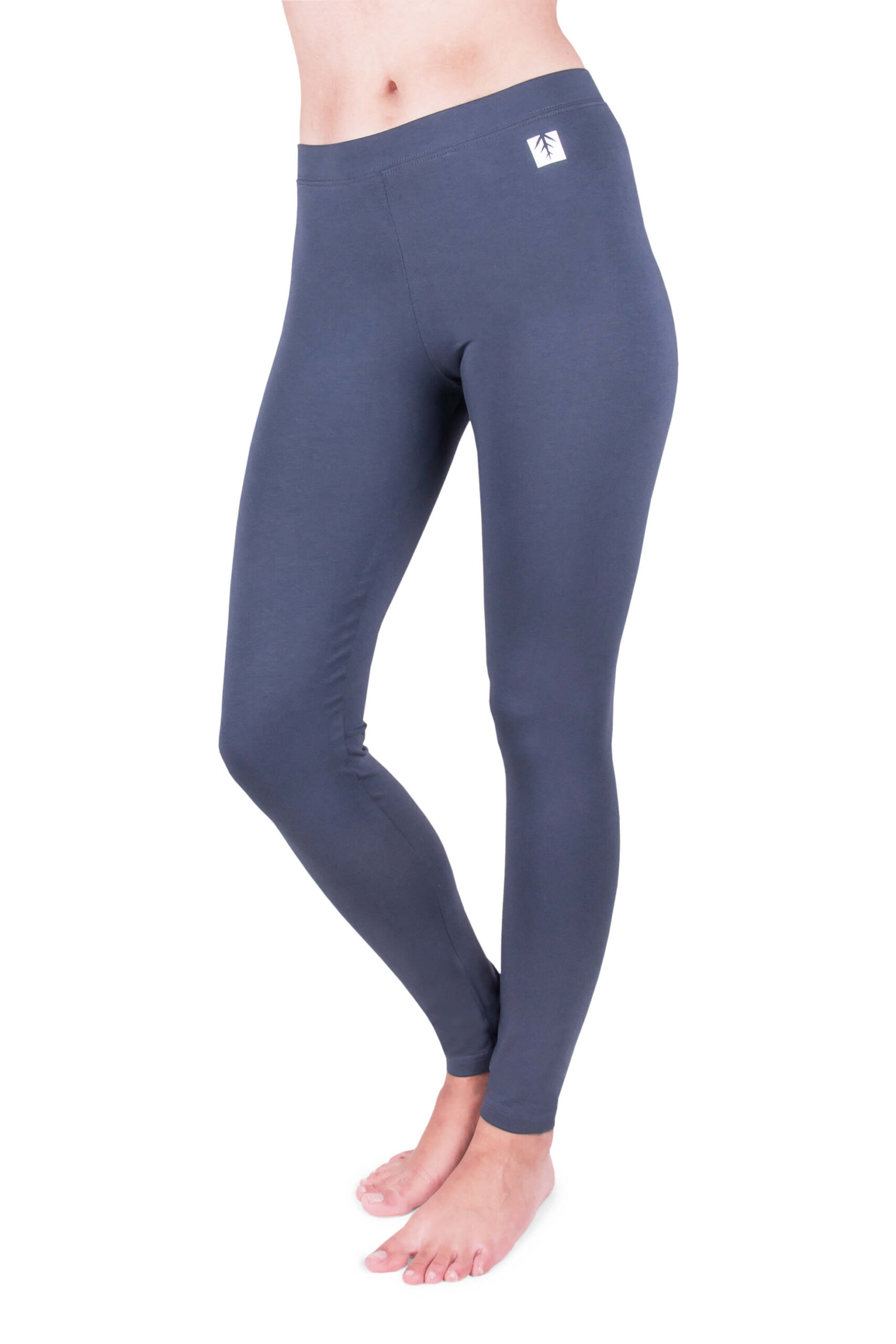 GRAPHITE Womens Leggings Full Length Hight Quality Cotton Active Run Trousers